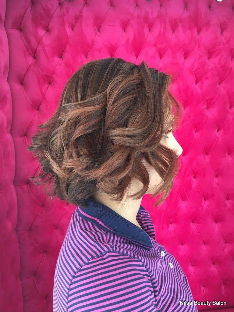 رنگ مو، بافت و براشینگ